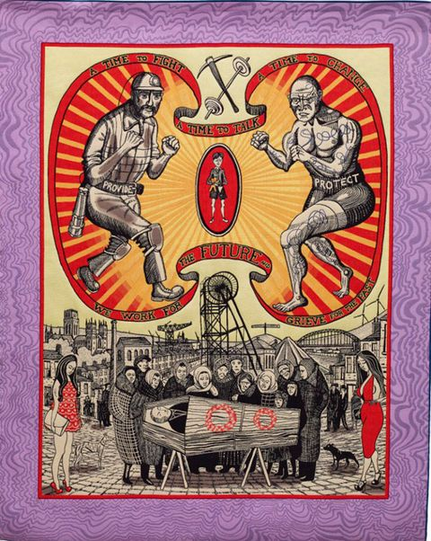 Death  of  a Working Hero by Grayson Perry