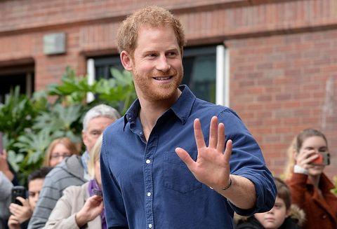 Prince Harry Visits Nottingham | ELLE UK