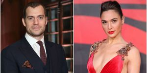 Henry Cavill and Gal Gadot | ELLE UK