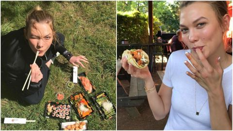 Karlie Kloss Tried Out This Year S Viral Recipes On Instagram So You