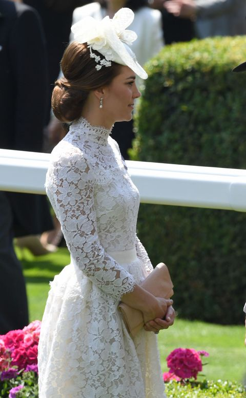Kate Middleton Channels Audrey Hepburn\'s \'My Fair Lady\' In White ...