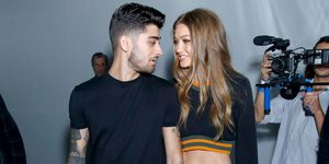 Zayn Malik and Gigi Hadid | ELLE UK