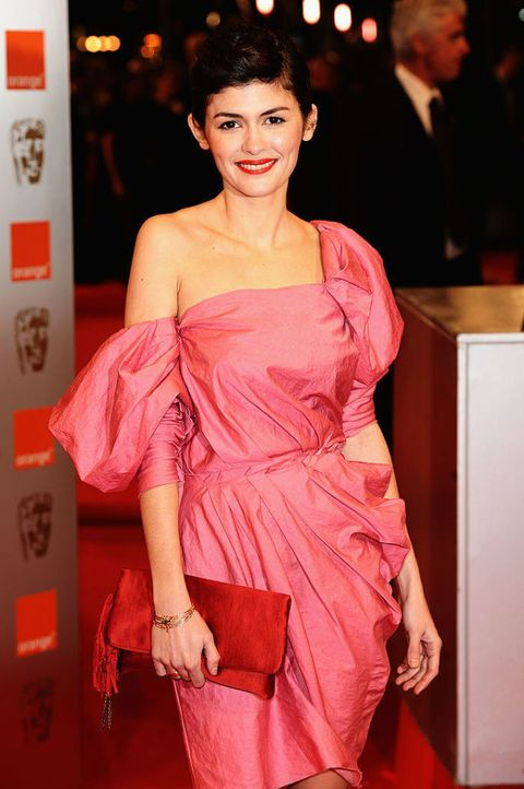 Actress Audrey Tautou attends the Orange British Academy Film Awards at the Royal Opera House | ELLE UK