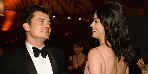 Katy Perry and Orlando Bloom | ELLE UK