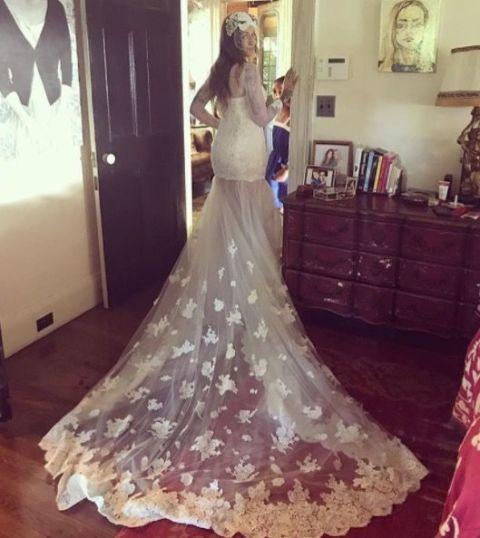 Best Celebrity Wedding Dresses 2018