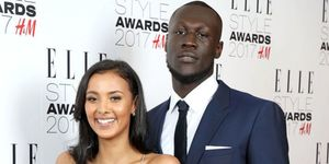 Maya Jama and Stormzy attend the Elle Style Awards 2017 | ELLE UK