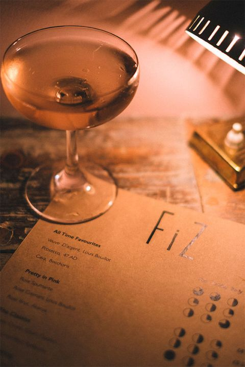 Fiz Sparkling Wine Bar, Soho , London