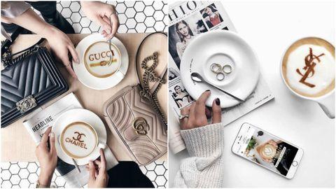 Designer Lattes   ELLE UK