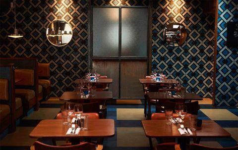 Rotorino bar and restaurant, London