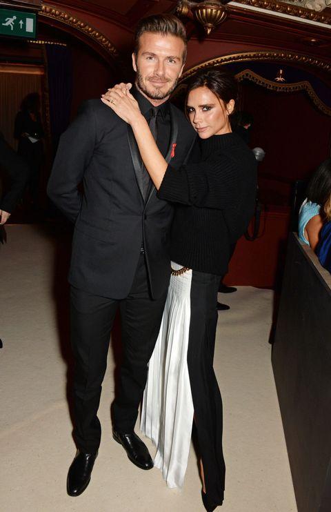 David and Victoria Beckham | ELLE UK