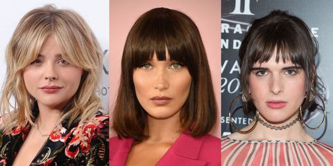 Best Fringe Hairstyles for 2019 - How To Pull Off A Fringe ...
