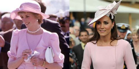 36 Times Kate Middleton Dressed Like Princess Diana
