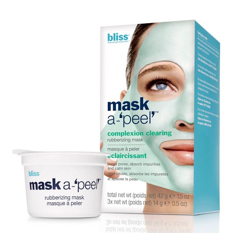 Bliss Mask a-'Peel' Radiance Revealing Rubberizing Face Mask