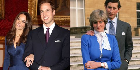 "<p>As you're probably well-aware, Kate's engagement ring once belonged to Princess Diana, and features fourteen diamonds surrounding a twelve carat sapphire. Apparently, Prince Charles allowed his sons to pick a memento&nbsp;from Diana's collection when she died—and it was actually&nbsp;Harry who picked the ring, while William <a href=""http://www.vanityfair.com/news/2003/09/princes-private-world-200309"" target=""_blank"" data-saferedirecturl=""https://www.google.com/url?hl=en&amp;q=http://www.vanityfair.com/news/2003/09/princes-private-world-200309&amp;source=gmail&amp;ust=1499790911007000&amp;usg=AFQjCNE-XfyQxrD0X2L4Qdtb27zML02lzg"">chose</a> his mother's Cartier watch. They switched items when Will&nbsp;decided to propose to Kate. 'It is very special to me,"" he said. ""It was my way of making sure my mother didn't miss out on today, and the excitement, and the fact we are going to spend the rest of our lives together.""</p>"