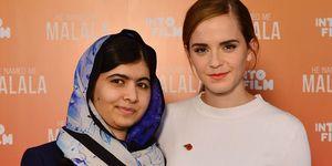 Emma Watson and Malala Yousafzai   ELLE UK