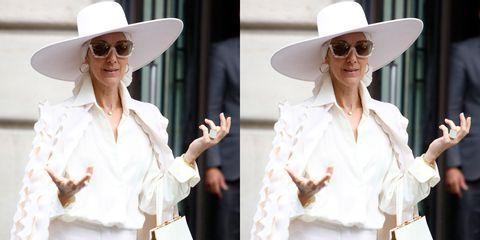 Celine Dion In Paris Couture 2017