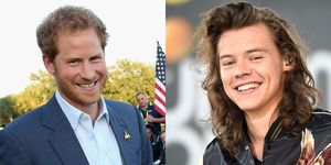 Prince Harry and Harry Styles of One Direction