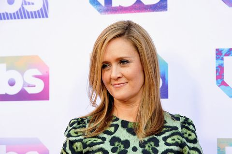 V host/comedian Samantha Bee attends TBS's A Night Out With - For Your Consideration event at The Theatre at Ace Hotel on May 24, 2016 in Los Angeles, California | ELLE UK