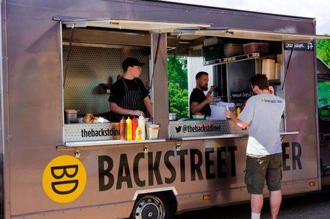 Backstreet Diner, Alexandra Palace Summer Festival