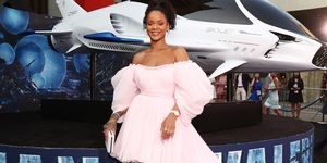 Rihanna attends the premiere Valerian And The City Of A Thousand Planets