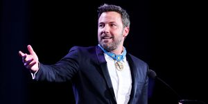 Ben Affleck  humanitarian award at the Starkey Hearing Foundation