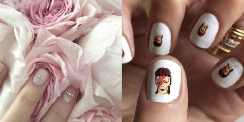 Celebrity Instagram Nail Art - Nail Art Designs - The Best Celebrity Nail Art For All Your Manicure
