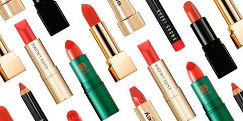 Best orange lipstick for olive skin tones, best coral lipstick, best orange-red lipstick