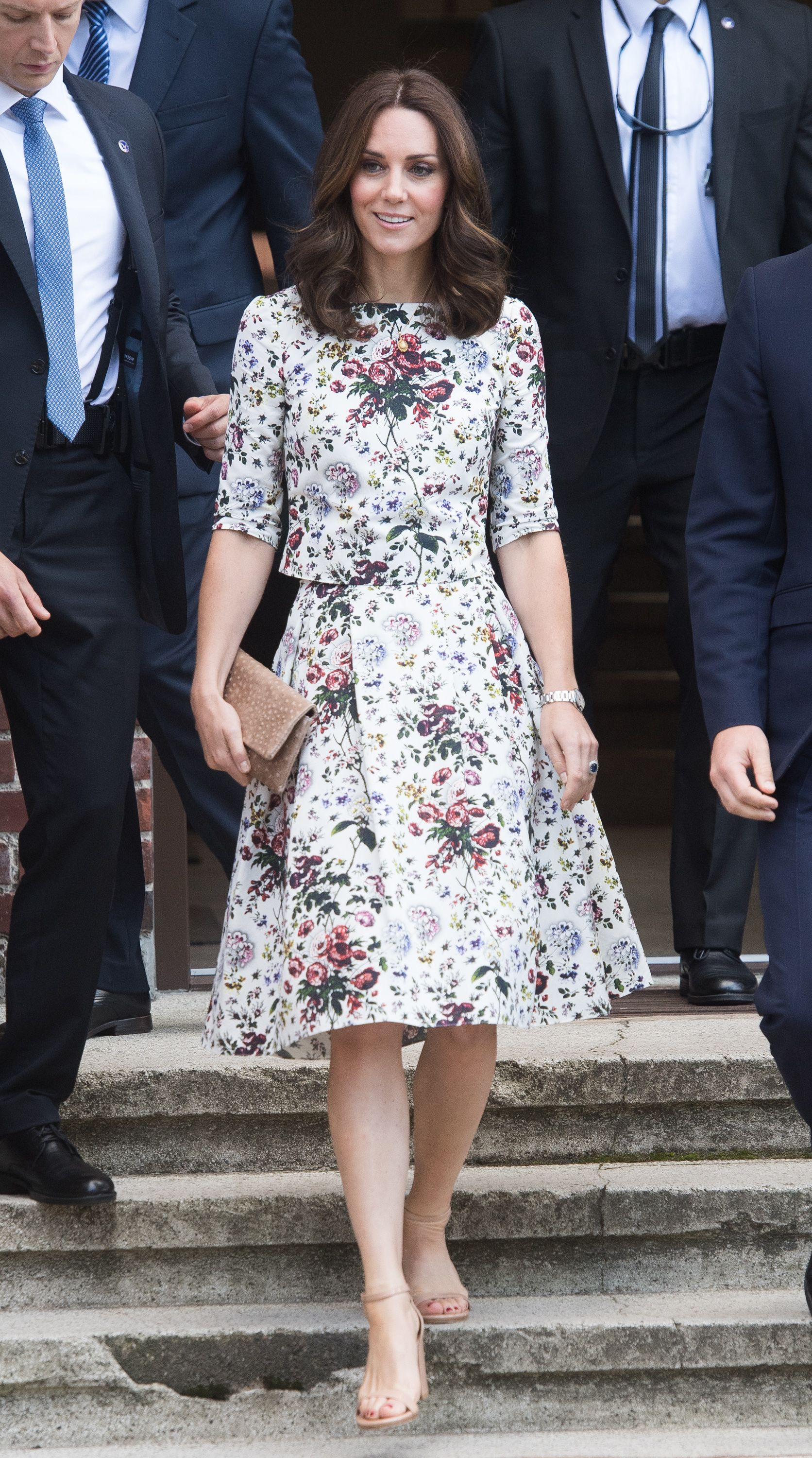 Dress Exactly Like Kate Middleton In This Floral ErdemDress