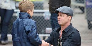 Brad Pitt Knox Jolie Pitt