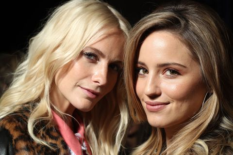 Poppy Delevingne And Diana Agron Balayage Hair