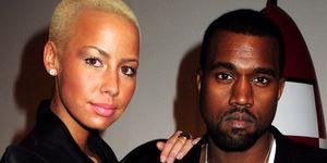 Amber Rose Kanye West