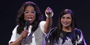 Mindy Kaling pregnant Oprah