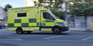 London ambulance racing