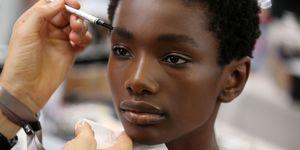 Model Eyebrows Backstage