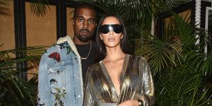 Kanye West and Kim Kardashian | ELLE UK