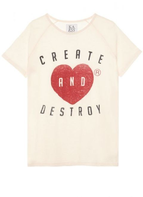 T-shirt, Clothing, White, Product, Red, Text, Top, Sleeve, Pink, Font,