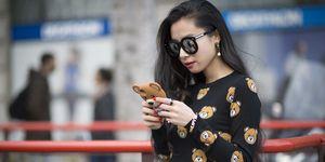 Woman messaging   ELLE UK