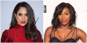 Meghan Markle and Serena Williams | ELLE UK