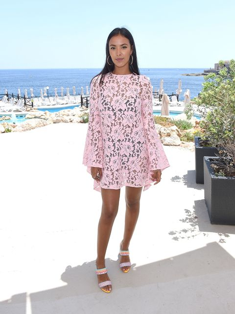 Maya Jama attends the press conference ahead of the annual Isle of MTV Malta event at Radisson Blu Hotel on June 27, 2017 | ELLE UK