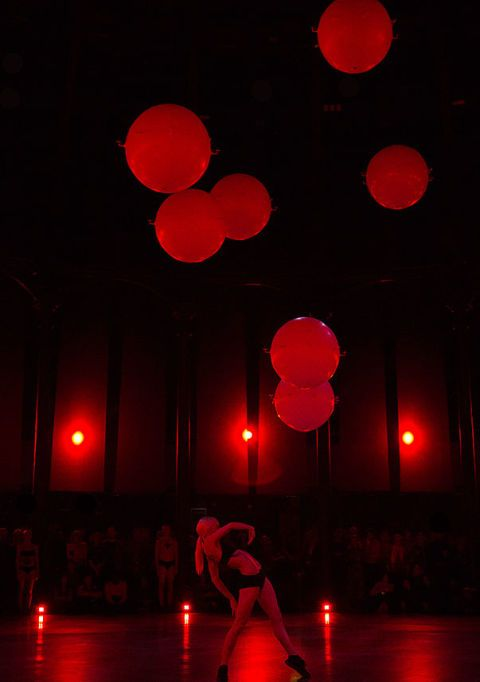 Human choreographed by Wayne McGregor at The Roundhouse, Camden, London