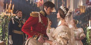 Queen Victoria and Pirnce Albert wedding, Victoria ITV