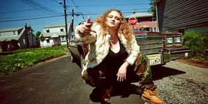 Patti Cake$ stars Danielle Macdonald as a plus-sized white girl from New Jersey who seeks to leave the bleak circumstances of her life behind to find success in a rap career | ELLE UK