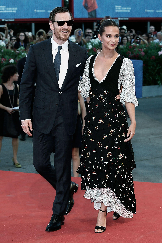 Michael Fassbender and Alicia Vikander at the Venice Film Festival 2016