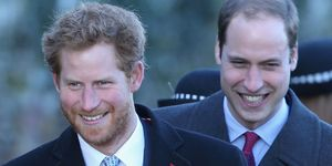 Prince harry and prince william | ELLE UK