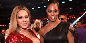 Beyonce and Laverne Cox | ELLE UK