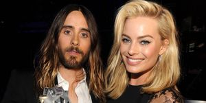 Margot Robbie and Jared Leto   ELLE UK