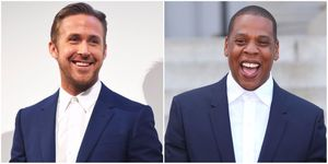 Ryan Gosling and Jay Z | ELLE UK