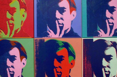 Self By Andy Warhol Licensed by Dreamtime, Rise gallery, Croydon