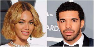 Beyonce and Drake | ELLE UK