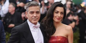 George Clooney and Amal | ELLE UK